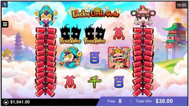 Lucky Little Gods- Game Play