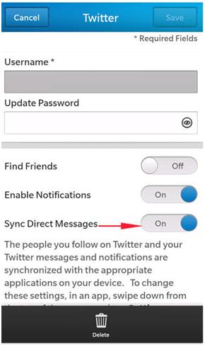 Remove Social Media Messages