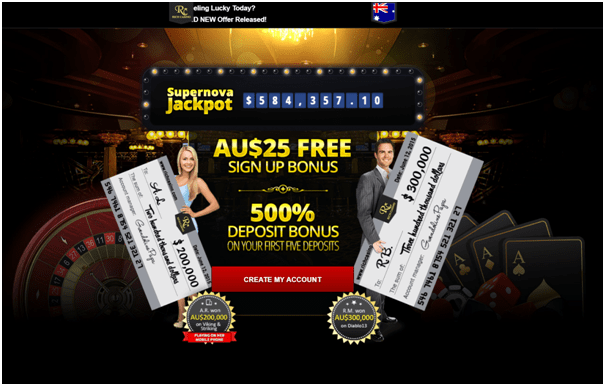 Rich Casino Australia- Play with your Blackberry phone