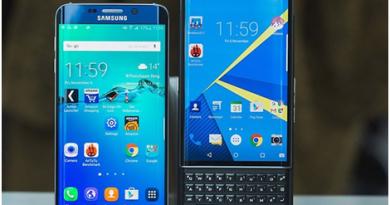 Samsung Galaxy S6 Edge and BlackBerry Priv