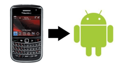 Transfer contacts from Blackberry