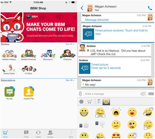 WhatsApp alternative to BlackBerry