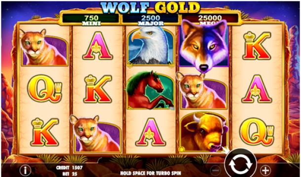 Wolf Gold Pokies Symbols