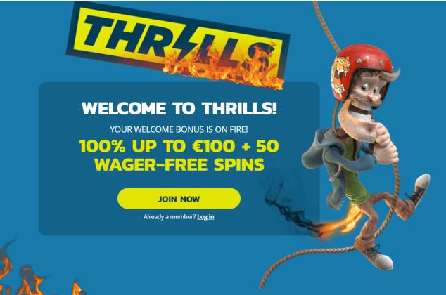 Thrills Casino for iPad