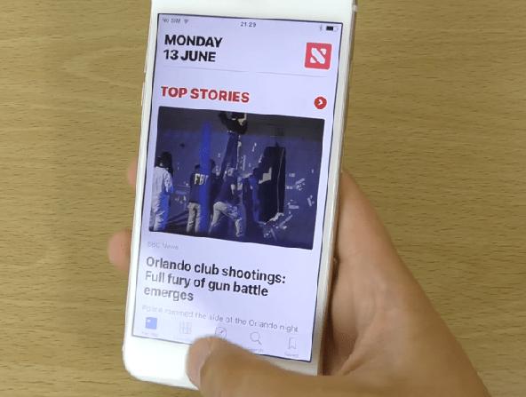 iOS10 News App