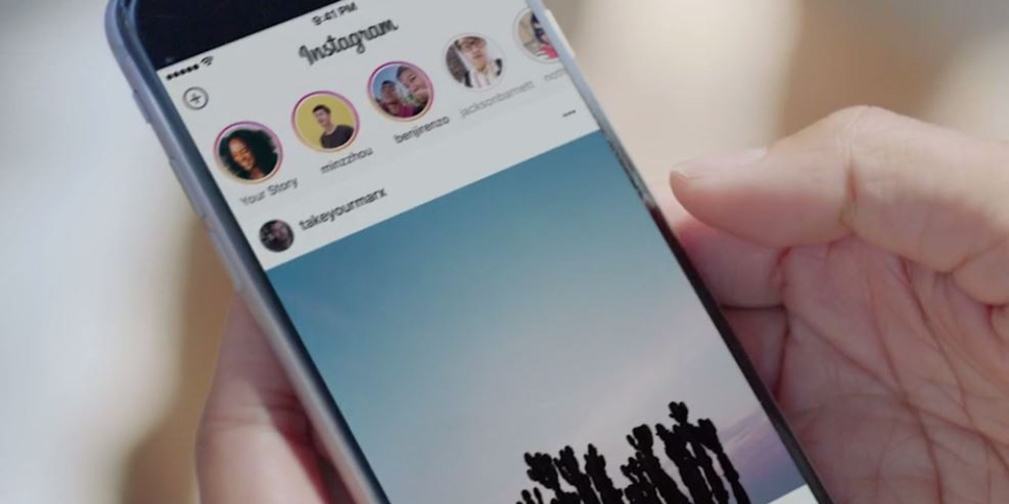 Instagram launches stories and zoom in feature on ios instagram stories ccuart Image collections