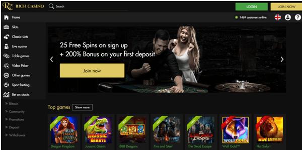 Rich Casino for iPad