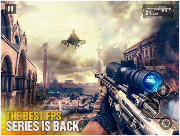 Modern Combat 5 game app