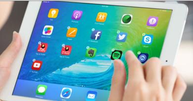 Free apps on iPad