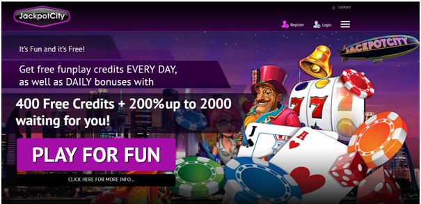 Jackpot city casino- play free pokies