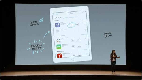 School work app for new iPad