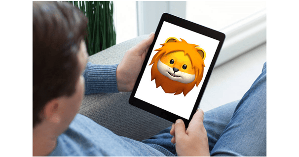 Face ID for Animojis in iPad