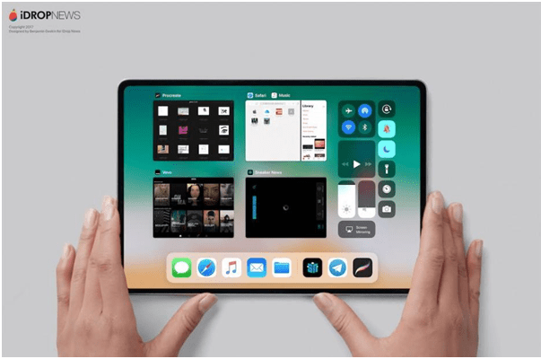 New iPad with second display
