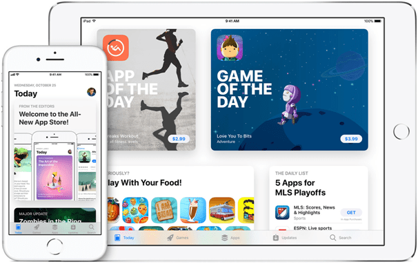 New ipad apps to download