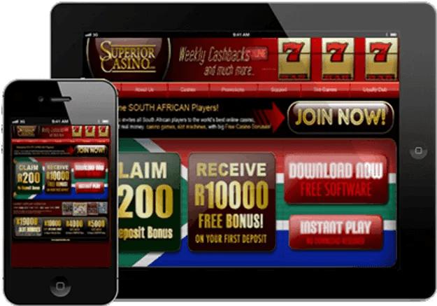 Superior casino iPad