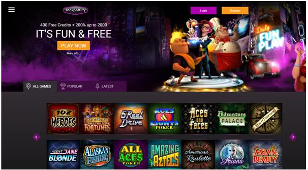 Jackpot city fun casino iPad