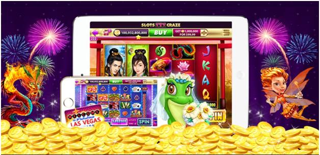Slots Craze: Free Casino Games App for iPad