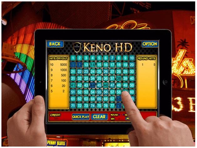 Keno on iPad