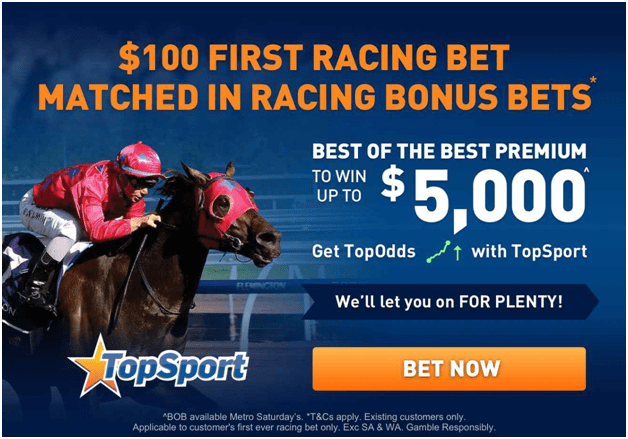 Topsport Bookies Apps in Australia to bet on sports and races