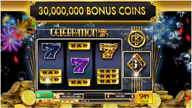 Slots - Black Diamond Casino - app features