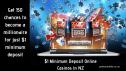 $1 minimum deposit online casinos NZ