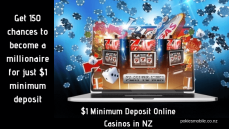 $1 minimum deposit online casinos NZ
