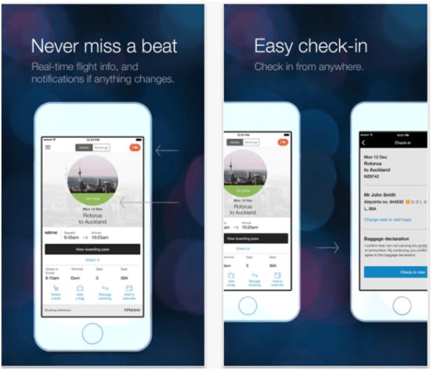 Air NZ App