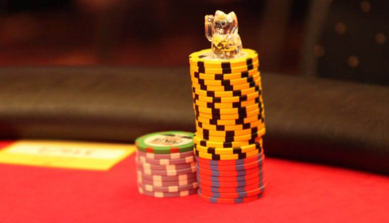 Begin by playing low-stakes poker