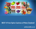 Best 4 free spins casinos