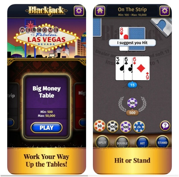 Blackjack from Mobility ware