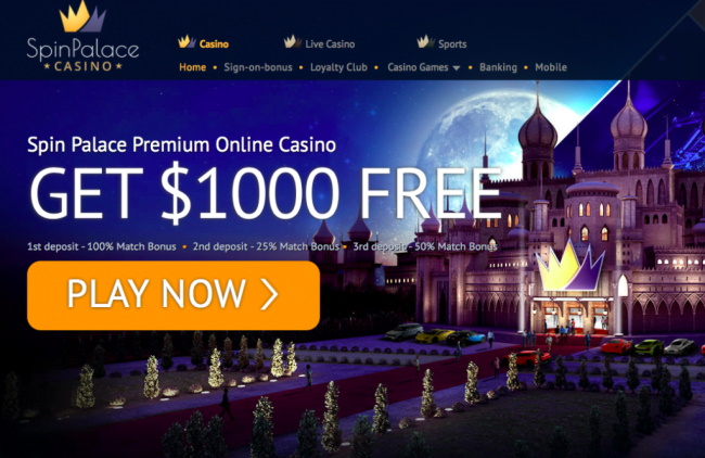 Bonuses and Promotions - Spin Palace NZ