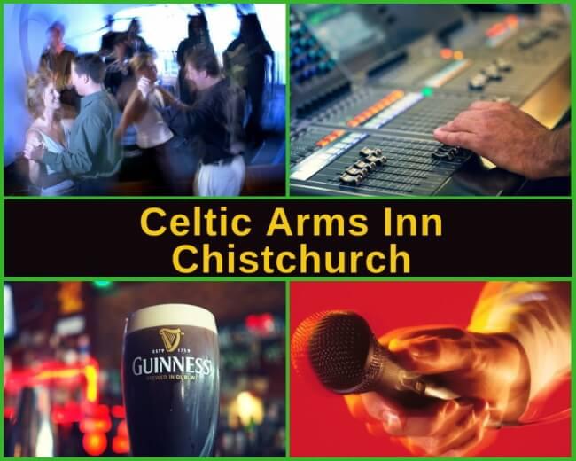 Celtic Arms Inn Spreydon, Christchurch Guide