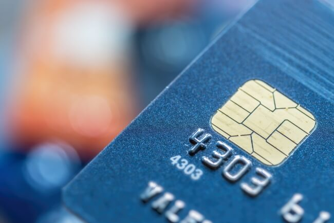 Credit cards with Smart Card technology