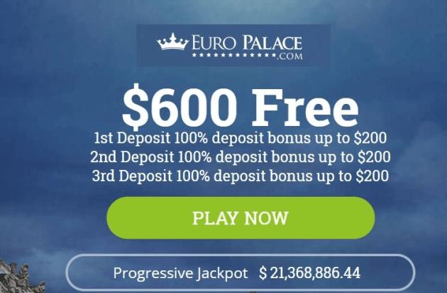 Euro Palace-Bonus