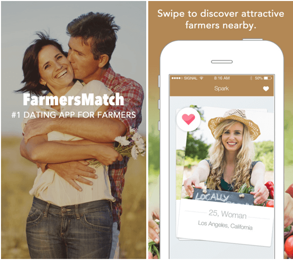 Features of the Farmers Match App