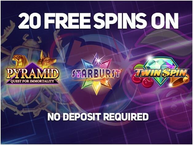 Free spins no deposit
