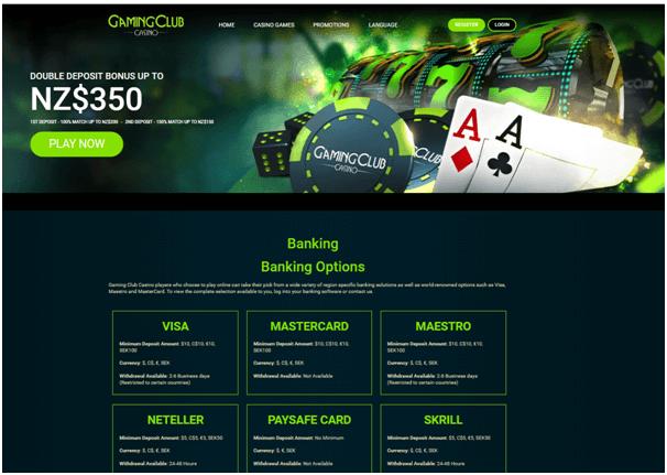 Gaming Club Paysafecard