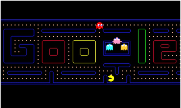 Google for doodle games- Pacman