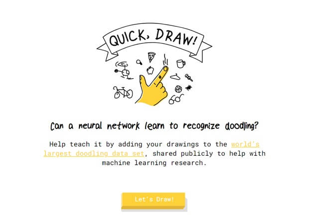 Google for doodle games- Quick Draw