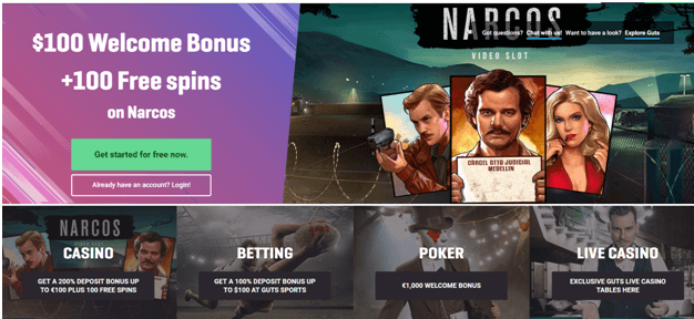 Guts Casino NZ