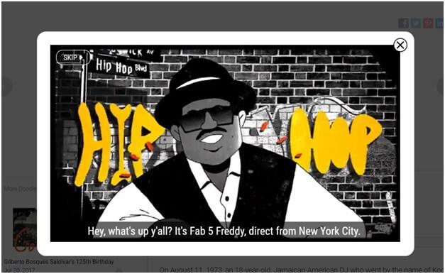Hip Hop Google game