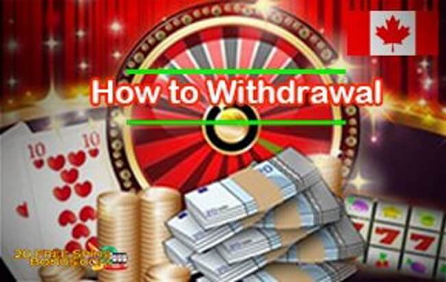 How to make a withdraw from your wins on free spins