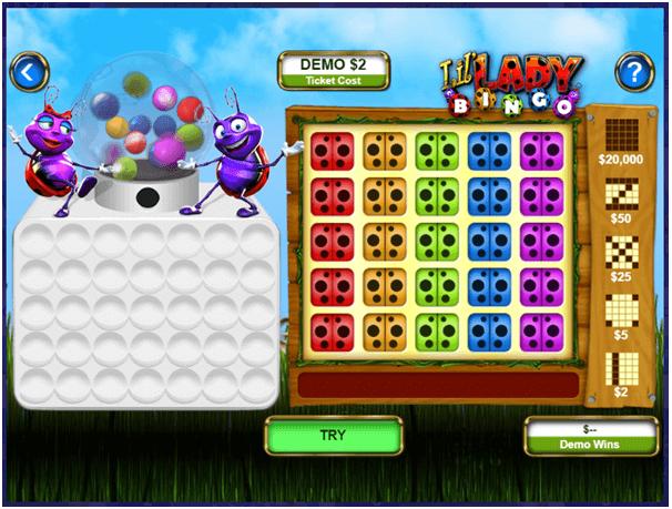 How to play Lil Lady Bingo Lotto NZ instant