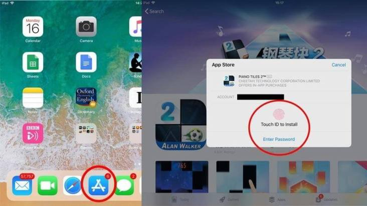 Install apps on iPhone