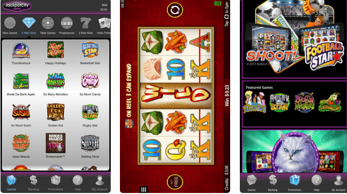 Jackpot City Casino NZD- Games