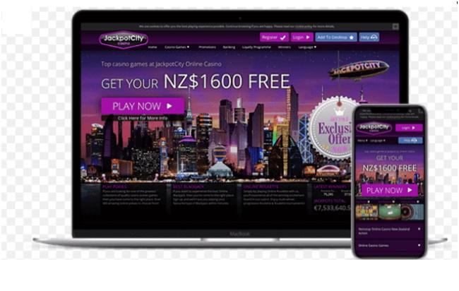 Jackpot City NZ Casino Mobile