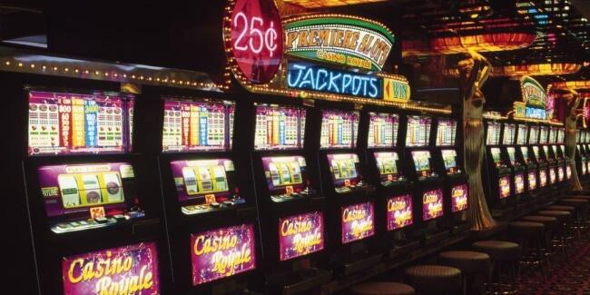 Jackpots in casinos