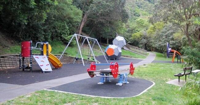 Katherine Mansfield Park Playground, Thorndon