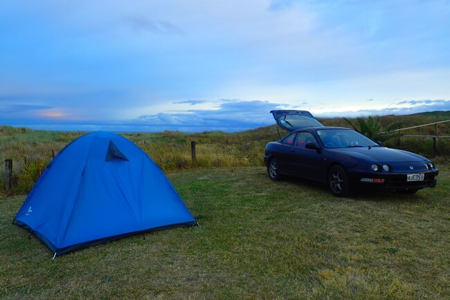 Know the camping system -Drive Through NZ