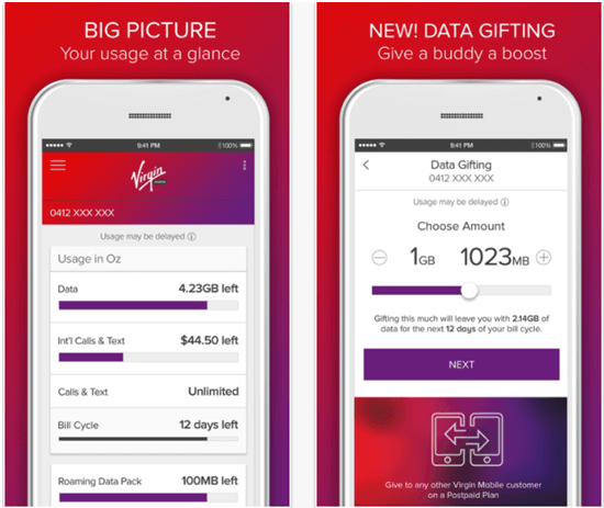 Checking your mobile balance with Virgin